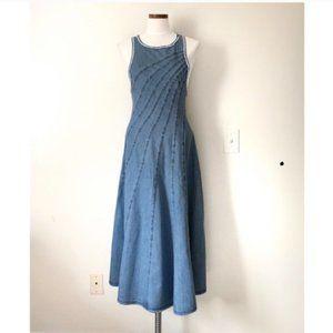NWOT Free People Cascade Stitch Maxi Dress
